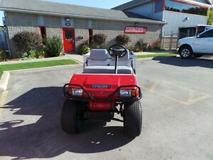 2005 club car Carryall TURF 2  GAS Belleville Belleville Area image 2