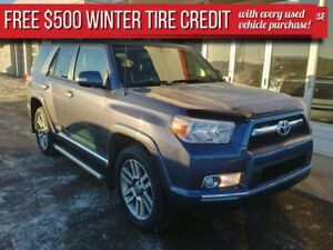 2013 Toyota 4Runner Limited ***PST PAID***$500 winter tire credi