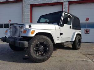 2005 Jeep TJ SPORT/4X4/AUTO/GARANTIE!!!
