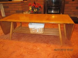 Ercol extending coffee table