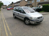 2002,Vauxhall Zafira 7 SEATER, 2.0 DTI 16V Comfort 2.0 diesel 5 speed manual