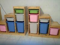Ikea Trofast Storage Units - 2 available