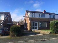 3 Bed house, garage, gardens, cul-de-sac near Blackburn Hospital