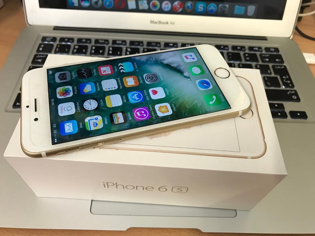 iPhone 6s gold 16gb factory unlocked boxed immaculate conditionin Stoke on Trent, StaffordshireGumtree - iPhone 6s gold 16gb factory unlocked boxed immaculate condition . Comes with all genuine accessories. Sold with shop receipt and warranty