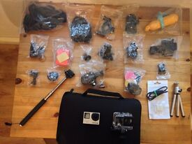 GoPro HERO4 Black Edition PLUS AMAZING Bundle of Accessories!!!