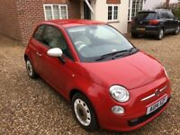 Fiat 500 1.2 Therapy 3dr - Beautiful Red, low mileage, 12 mths MOT, FSH, 2014