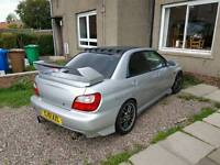 2002 subaru impreza 300BHP MODIFIED !!SWAPS!!