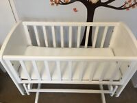 Crib and mattress (Perfect condition - collection only)