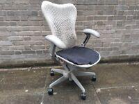 Herman Miller Mirra Ergonomic Fully Adjustable Office Task Chair in White