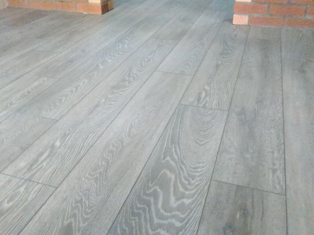 8mm Laminate Flooring Grey Charcoal Ac4 Commercial Grade 20m2 In Baillieston Glasgow Gumtree