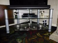 Three Tier Glass Television Stand