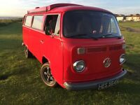 VW T2 late bay Camper