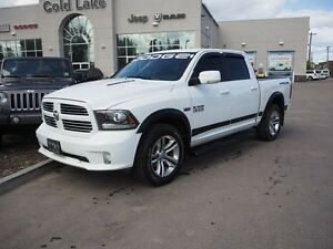 2013 RAM 1500 SPORT, CUSTOM DECALS, BLUETOOTH, BIG FUEL TANK