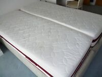 Electric adjustable beds - 2 x 2' 6'' or king size