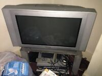 Fisher Paykel frig freezer TV VCR sofa bed sofa 2seater best bargain as moving quick sale£ 160 all