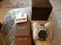 Gucci mens professional divers watch.size large