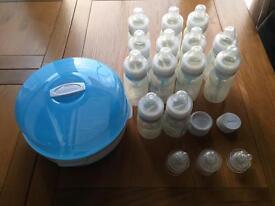 Dr Browns steriliser&bottles