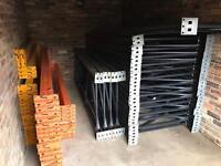 Job Lot of Pallet Racking - 19 Uprights & 45 Cross Member Beams
