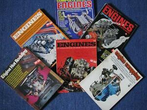 The Complete Book of Engines Series 1967 1970 1971 1972.