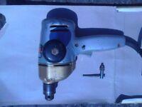 "Black and Decker D500 1/4"" (6mm) Vintage Drill - collectors item £10"