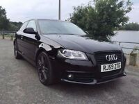 ***FINANCE AVAILABLE GOOD CREDIT BAD CREDIT NO CREDIT AUDI A3 BLACK EDITION***