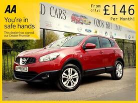 NISSAN QASHQAI 1.5 ACENTA DCI 5d 110 BHP Apply for finance Online (red) 2010