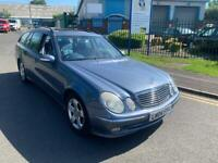 MERCEDES E320 Cdi avant-garde 2004 04 PLATE AUTO full services history glass sunroof MOTTED