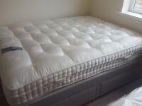 EX DISPLAY JOHN LEWIS NATURAL COLLECTION 12,000 POCKET YORKSHIRE WOOL kingsize mattress 150x200cm