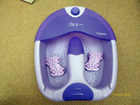 Foot Massage Bubble Spa Multi Function, Acupressure Surface, Bubbles, Aroma Well. Kenilworth, £5