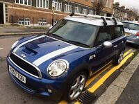 MINI COOPER S CLUBMAN 1.6 ESTATE 2007 LOW MILEAGE 8 SERVICE ENTRIES FULL HISTORY 2 KEYS LEATHER SEAT