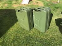 20l Jerry Can x 2