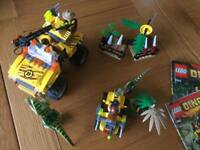 Dino Lego sets 5884 and 5882