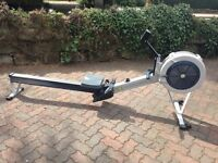 Concept 2 model d rower with pm3 monitor