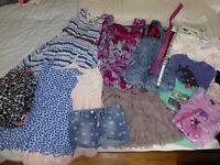 Large Bundle of girl clothes 8-9 years old inc Gap, Monsoon, M+S, H&M etc -(Bundle 3)