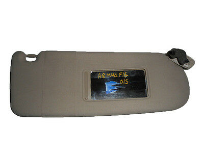 *AUDI A8 MK1 D2 1994-2002 BEIGE DRIVER/OFFSIDE SUN VISOR WITH LOOM