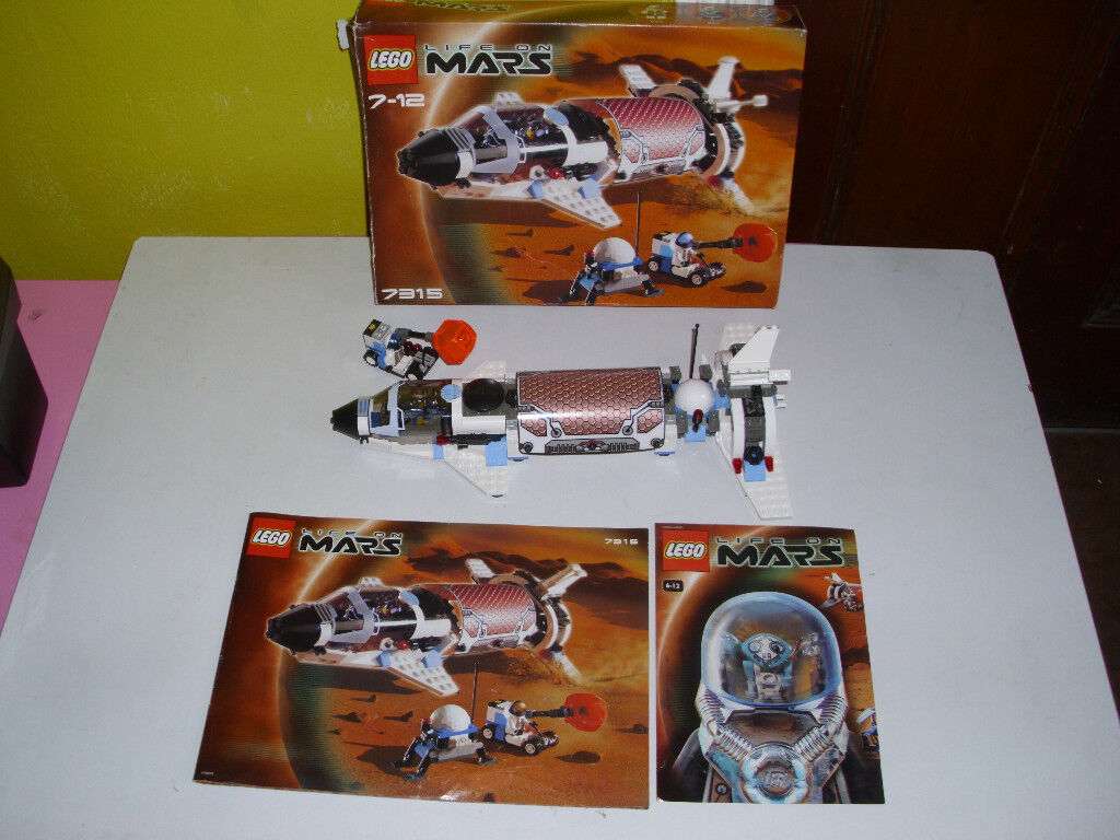 LEGO SPACE LIFE ON MARS 7315(BOXED WITH INSTRUCTIONS)