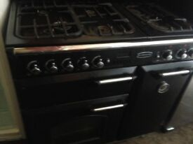 Black Rangemaster gas and Electric oven....Cheap free delivery