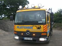MERCEDES ATERO 815 ~ 7.5 TONNE ~ TIPPER, LOTS OF EXTRAS , LONG M.O.T
