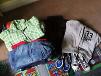 Boy clothes size 2-4