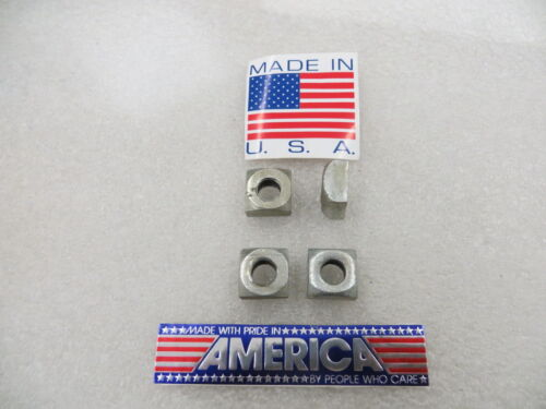 """7/16""""-14 Square Nuts , Steel Zinc Plated U.S.A. ( 50 Pcs. ) New Old Stock"""