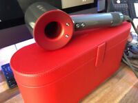 Brand New Dyson Hair Dryer + Travel Case, used once!!!