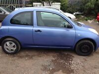 Nissan Micra 1.2 16v S 3dr ong MOT drive perfect engine gearbox excellent drive perfect engine ge