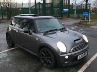 Mini Cooper s 03 Facelift top spec panroof satnav Harmon kardon parking sensors swap px