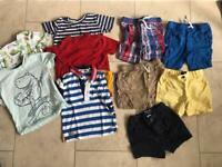 Summer clothes bundle 18-24 months
