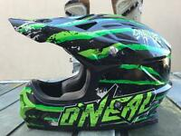 Oneal helmet large mx
