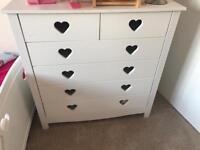 Mia heart girls bedroom set