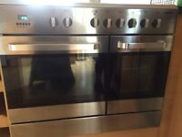 Sarena 5 burner gas Hob and double electric oven