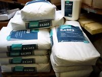 job lot floor compound and hardener 31 of each tremco sx 303 latex screed bag and bottle