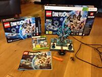 Lego Dimensions Starter Pack XB0x 360 with additional team sets