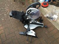 Wickes (Draper) 250mm Radial Arm Mitre Saw - As New